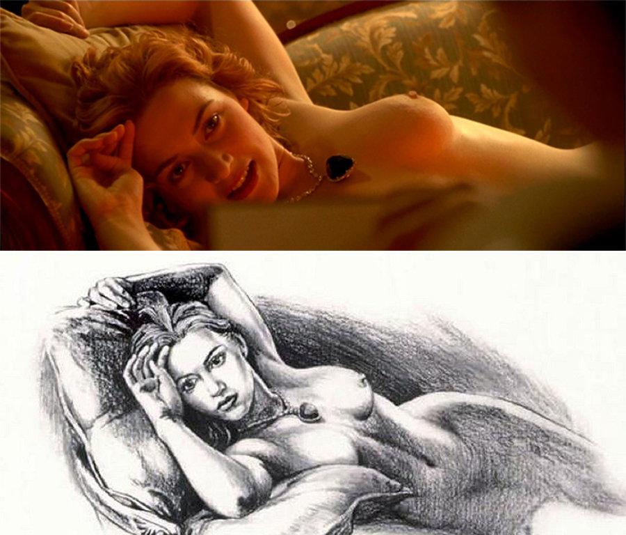 Kate Winslet desnuda - Fotos y Vídeos -