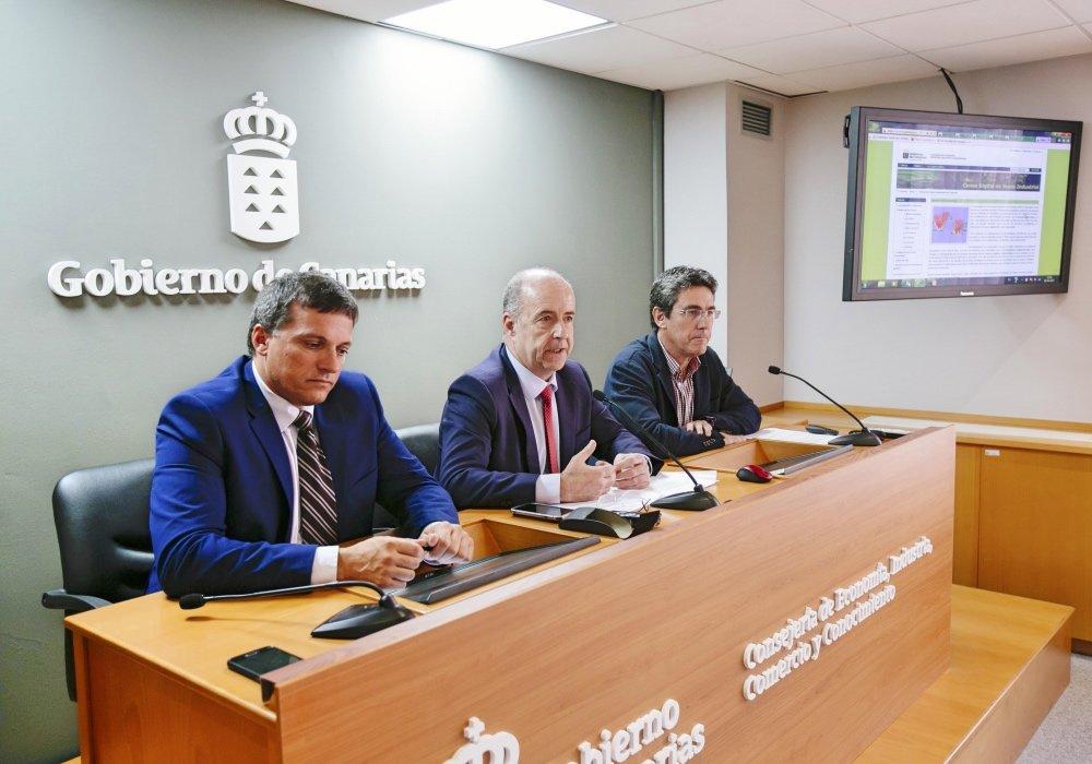 Resultado de imagen de Pedro Ortega destaca Gorona del Viento como ejemplo de la capacidad de desarrollo de Canarias en energías renovables