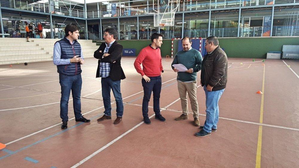 """Yeremi Curbelo : """" Estamos en movimiento para dar respuesta a las necesidades deportivas del municipio"""""""