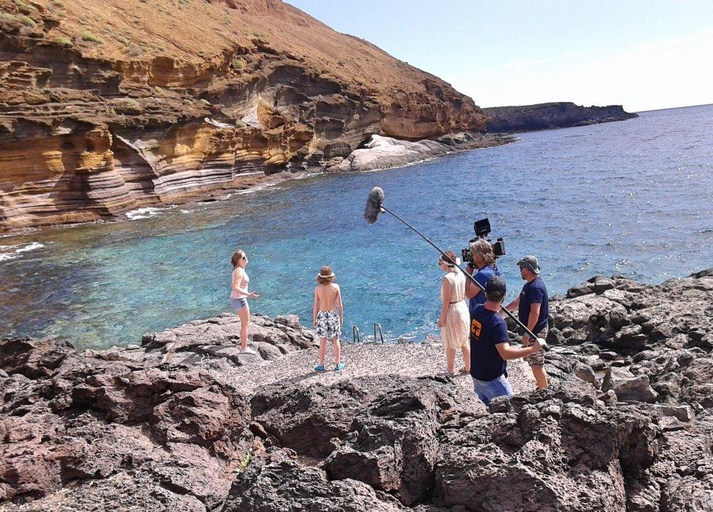 """Tenerife acoge el rodaje de la producción alemana """"Vacaciones con amigos"""""""