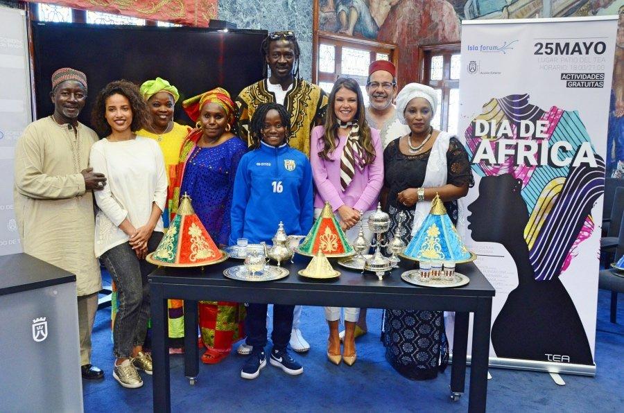 El Cabildo celebra el viernes una jornada de cultura, moda y gastronomía con motivo del Día de África