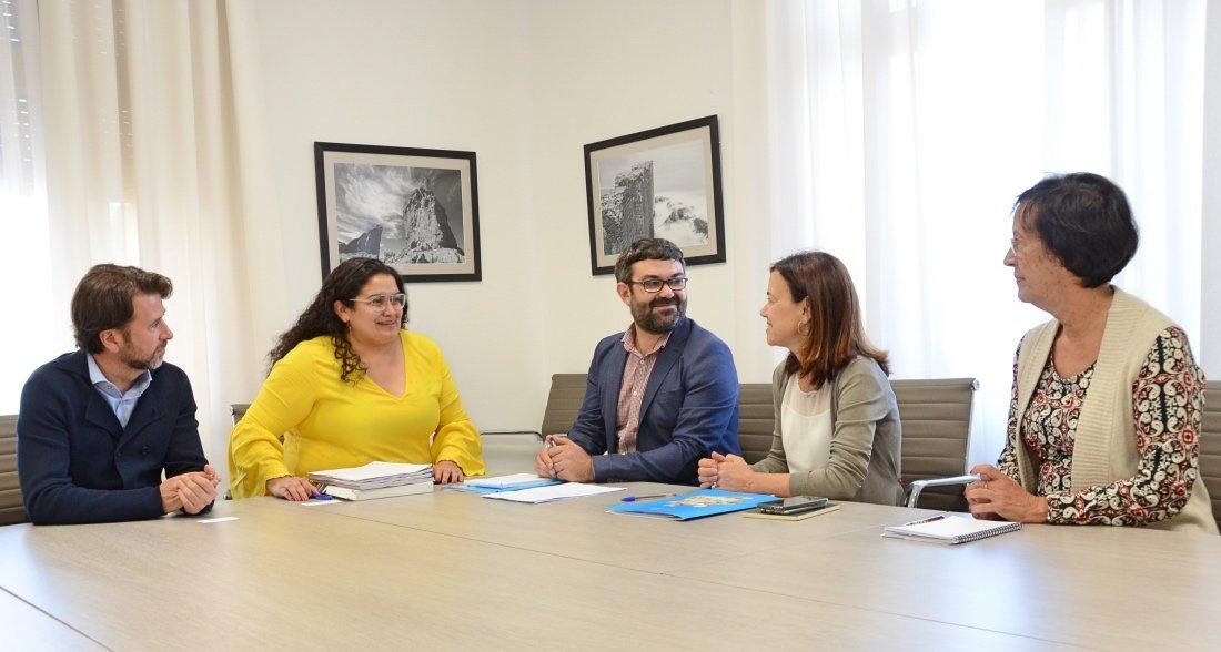 Alonso reafirma ante Unicef su apuesta por mejorar la calidad de vida de niños y adolescentes