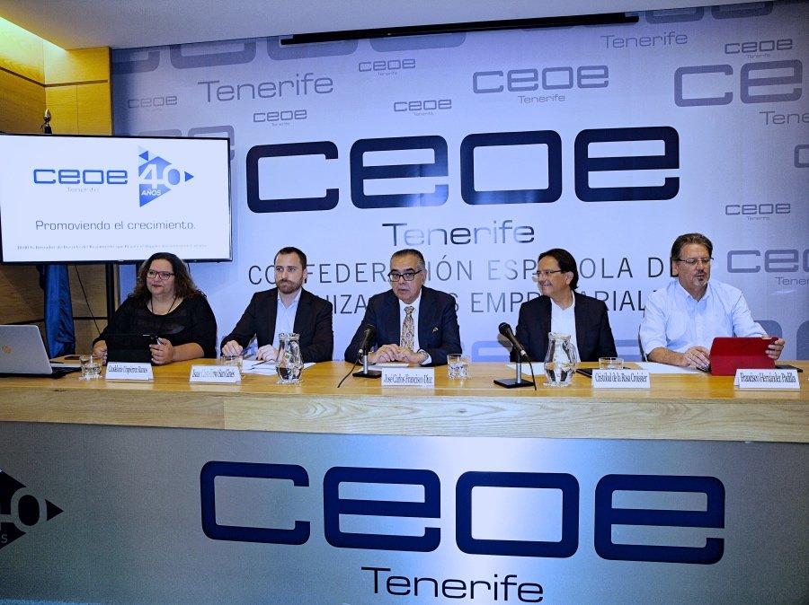 CEOE-Tenerife conoce el marco general del borrador de decreto de ...