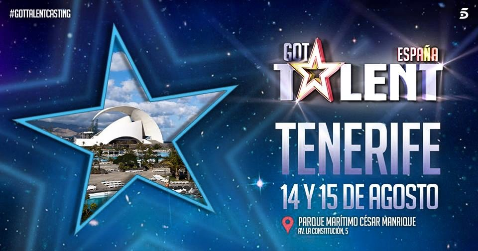 Got Talent llega a Canarias