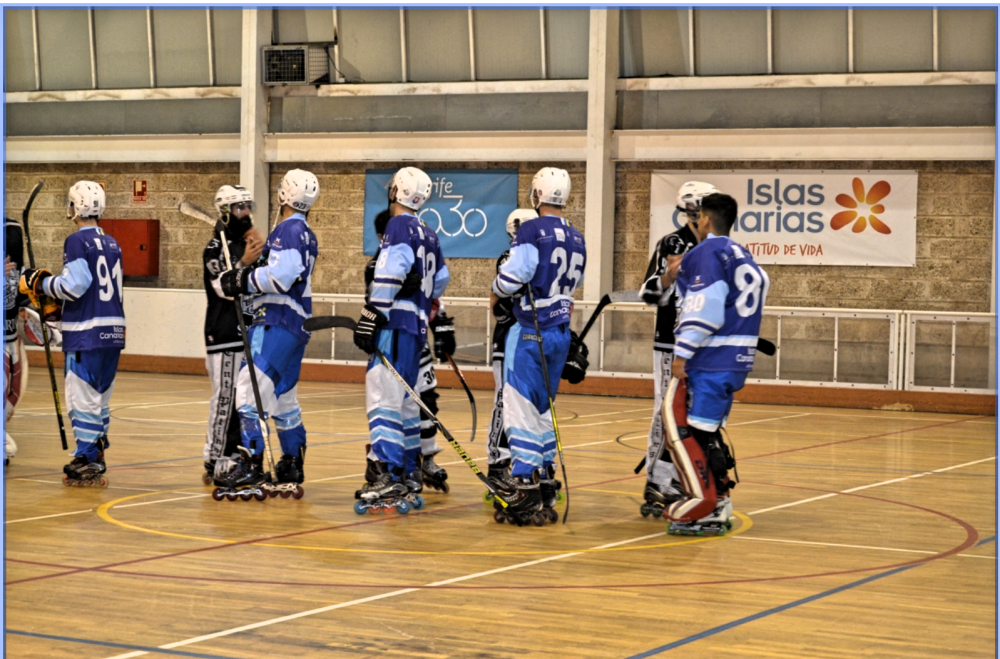 Arona Guanches Hockey club cae ante el líder, Tsunamis Hockey club de Barcelona