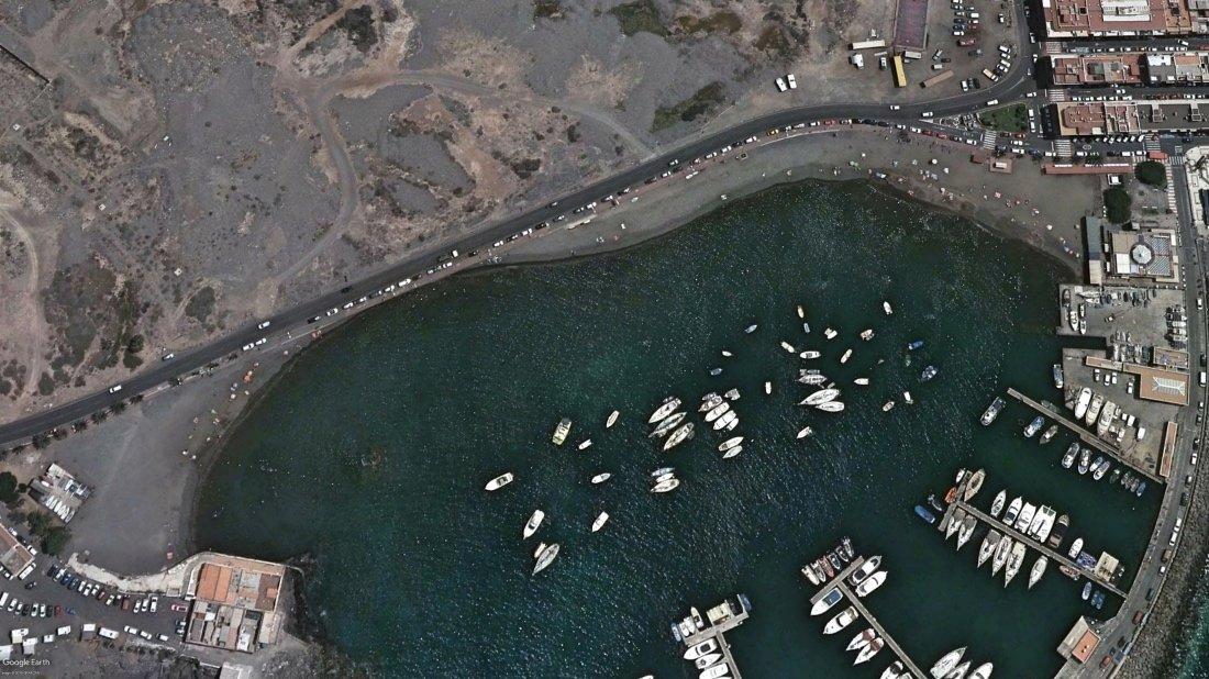 Arona abre la Playa de Las Galletas