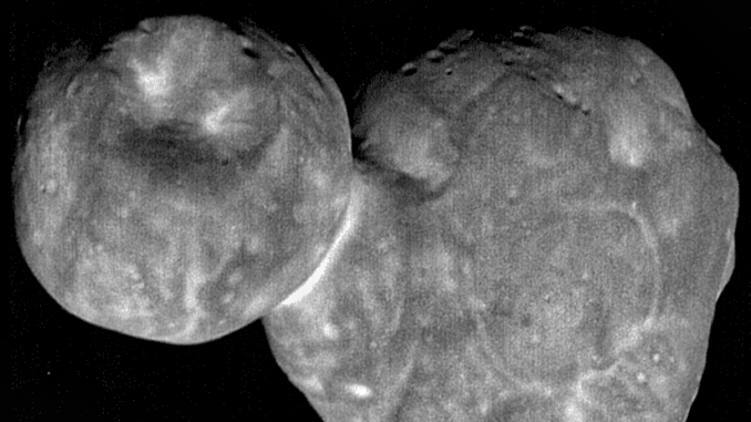 "Video de la NASA de Ultima Thule revela que ""no se parece a ningún objeto explorado"""