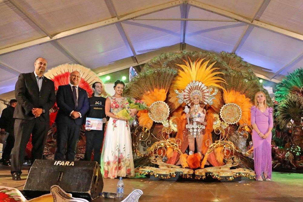 Resultado de imagen de Erica Hernández, reina granadilla de abona carnaval