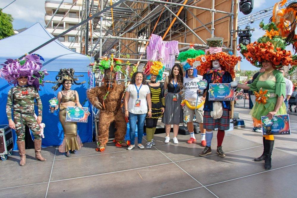 La Creatividad Brilla En El Carnaval Internacional De Los Cristianos