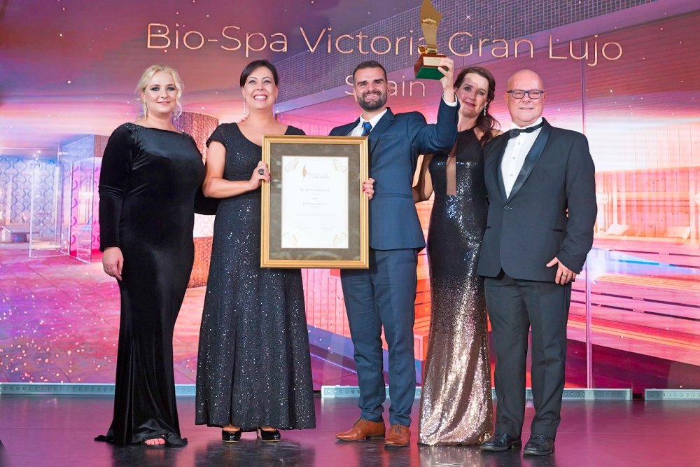 Bio-Spa Victoria, galardonado como mejor spa del mundo en los World Luxury Spa Awards
