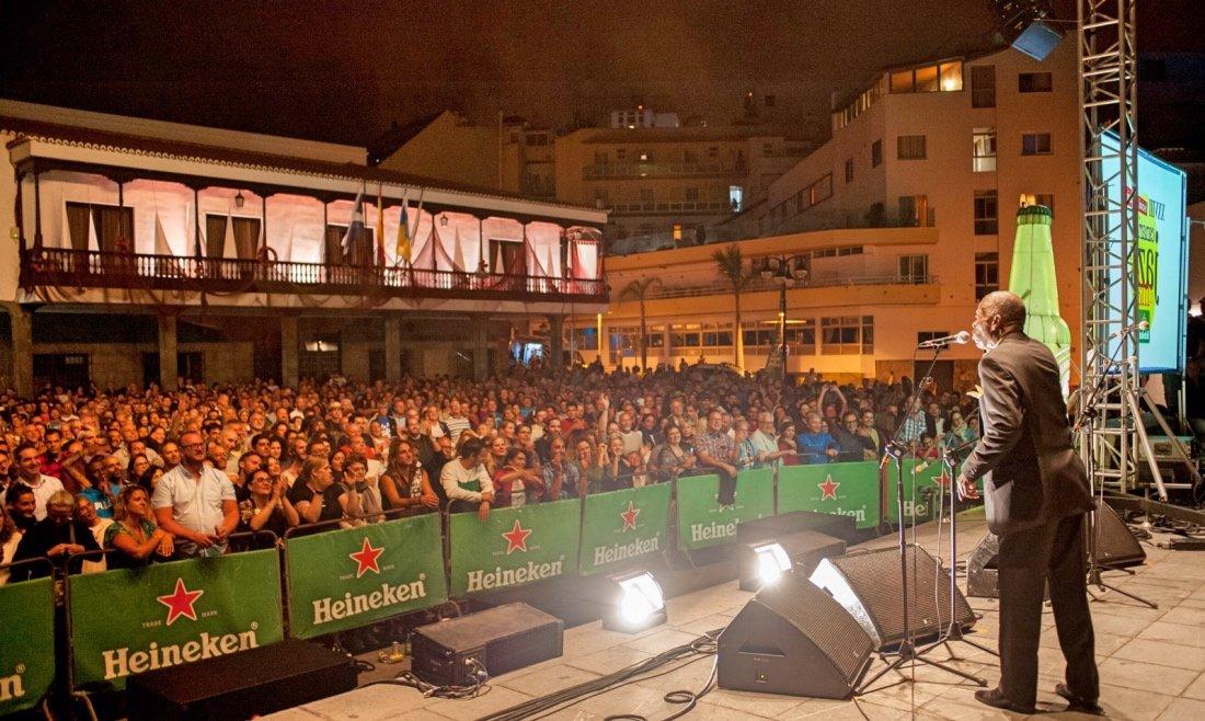 Resultado de imagen de Puerto de la Cruz vuelve a lucir con tres grandiosas noches de jazz