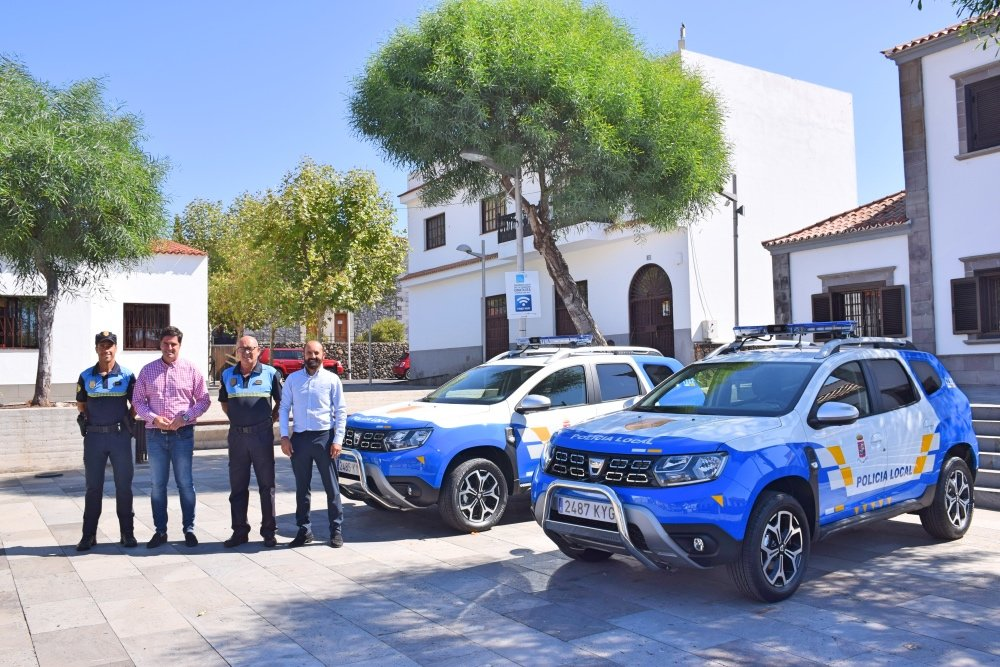 Dos nuevos vehículos SUV garantizarán un servicio más eficaz y una mayor garantía de calidad y seguridad ciudadana