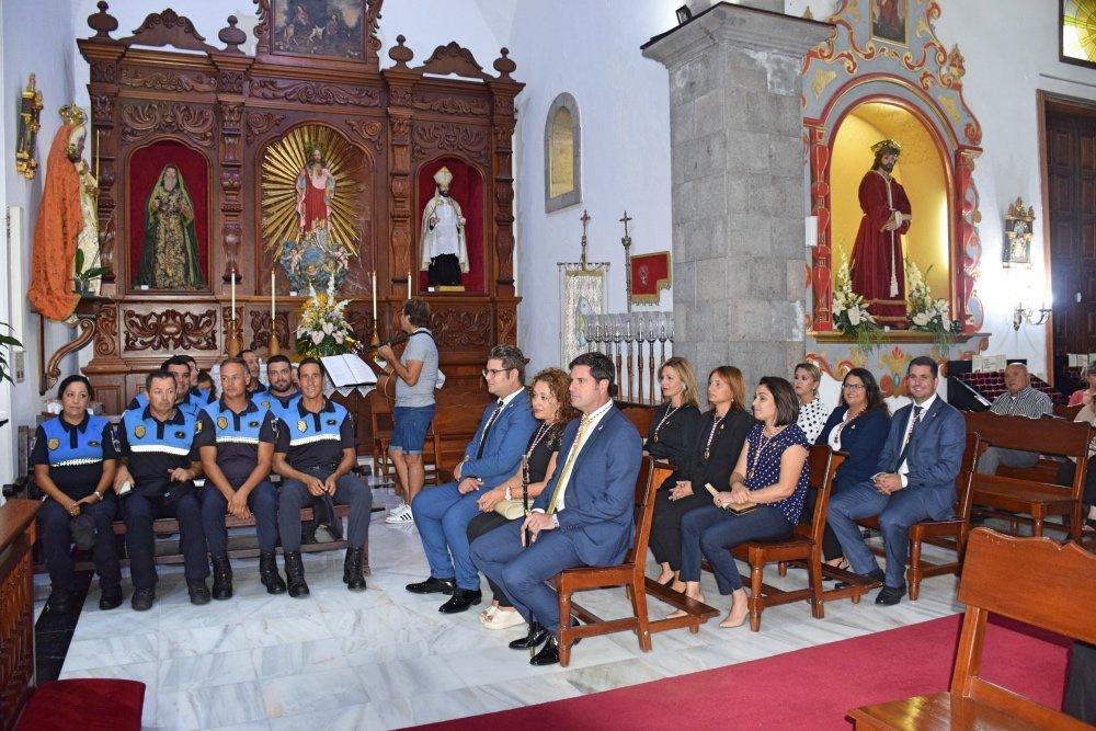 La Policía Local de Santiago del Teide celebró la festividad de su patrona