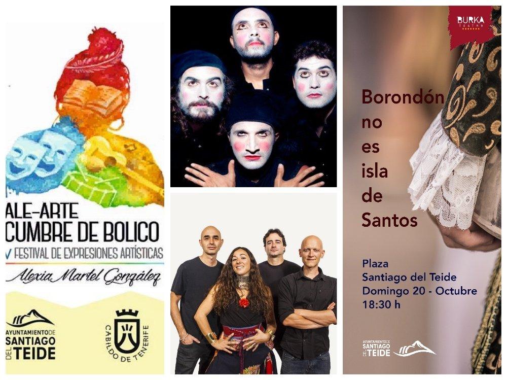 Santiago del Teide acoge este fin de semana el IV Festival de Expresiones Artísticas ALE-ARTE