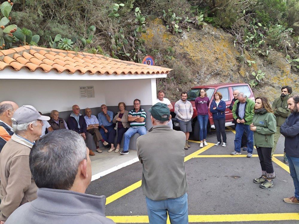 Resultado de imagen de El Cabildo y los vecinos de Anaga acuerdan comenzar las apañadas de cabras asilvestradas