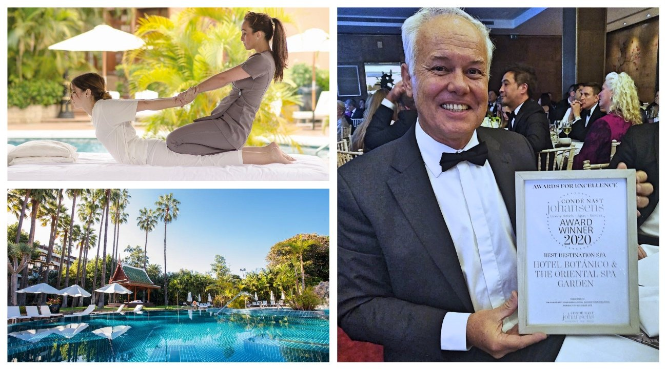 El Hotel ha recibido, en el marco de la feria World Travel Market, el reconocimiento de  la publicación 'Condé Nast Johansens'