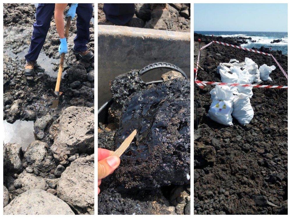 El litoral de esta Reserva Natural Especial ha sufrido, durante años, depósitos de hidrocarburos vertidos desde alta mar por algunas embarcaciones