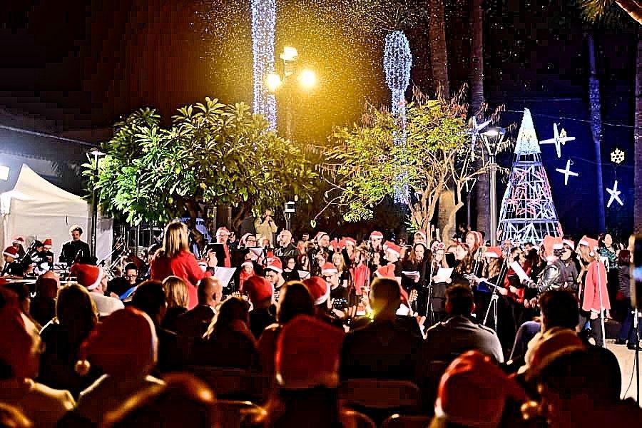 Resultado de imagen de La Navidad es mágica en Puerto de la Cruz