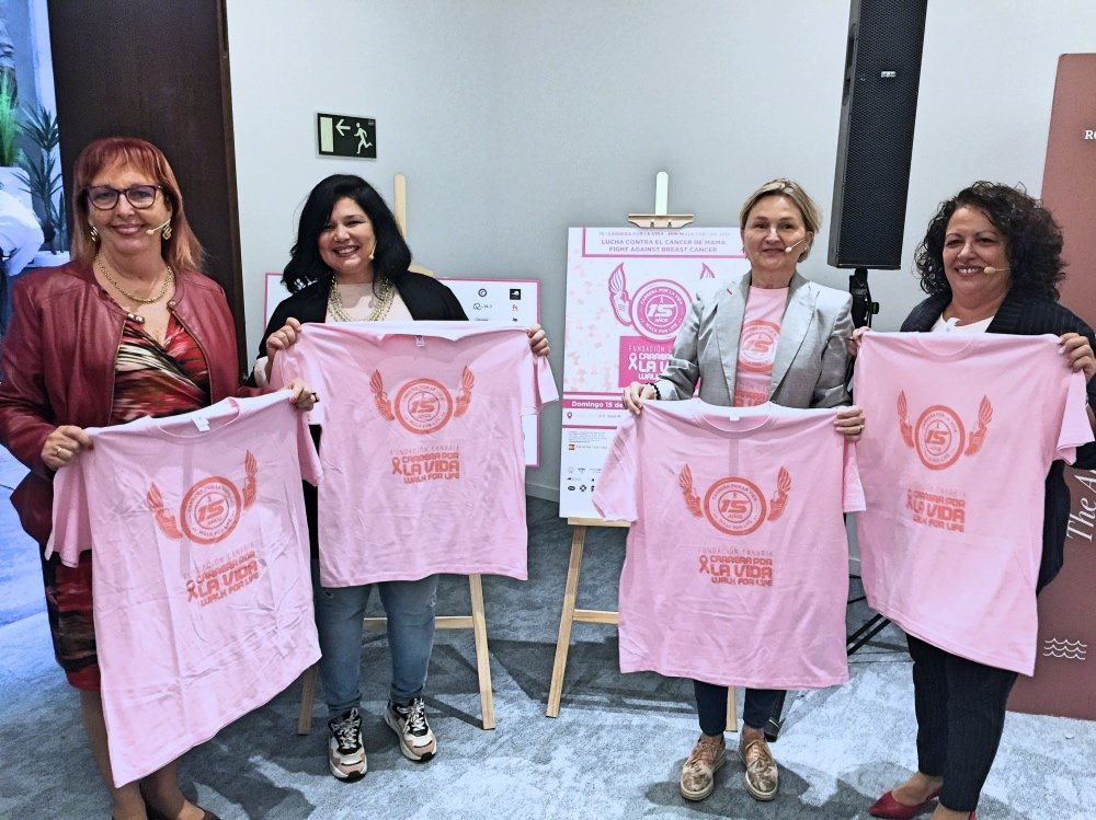 Carrera por la Vida da el salto internacional y se une a la red Think Pink Europe