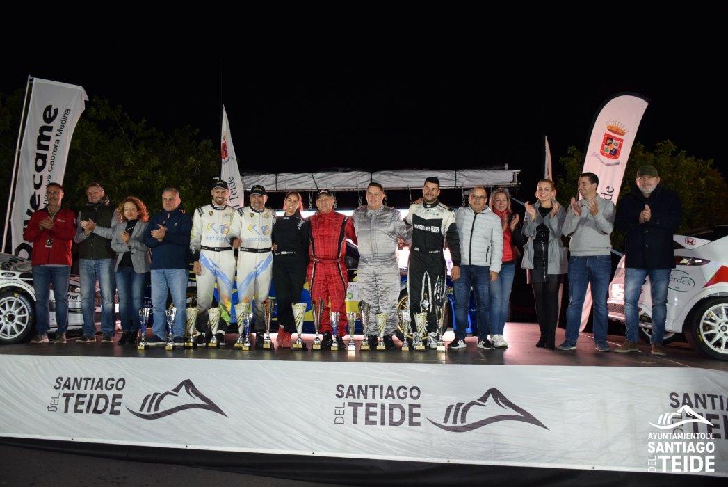 Félix Brito y Cristina Fariña se alzan con la victoria del II Rallysprint Santiago del Teide 2019