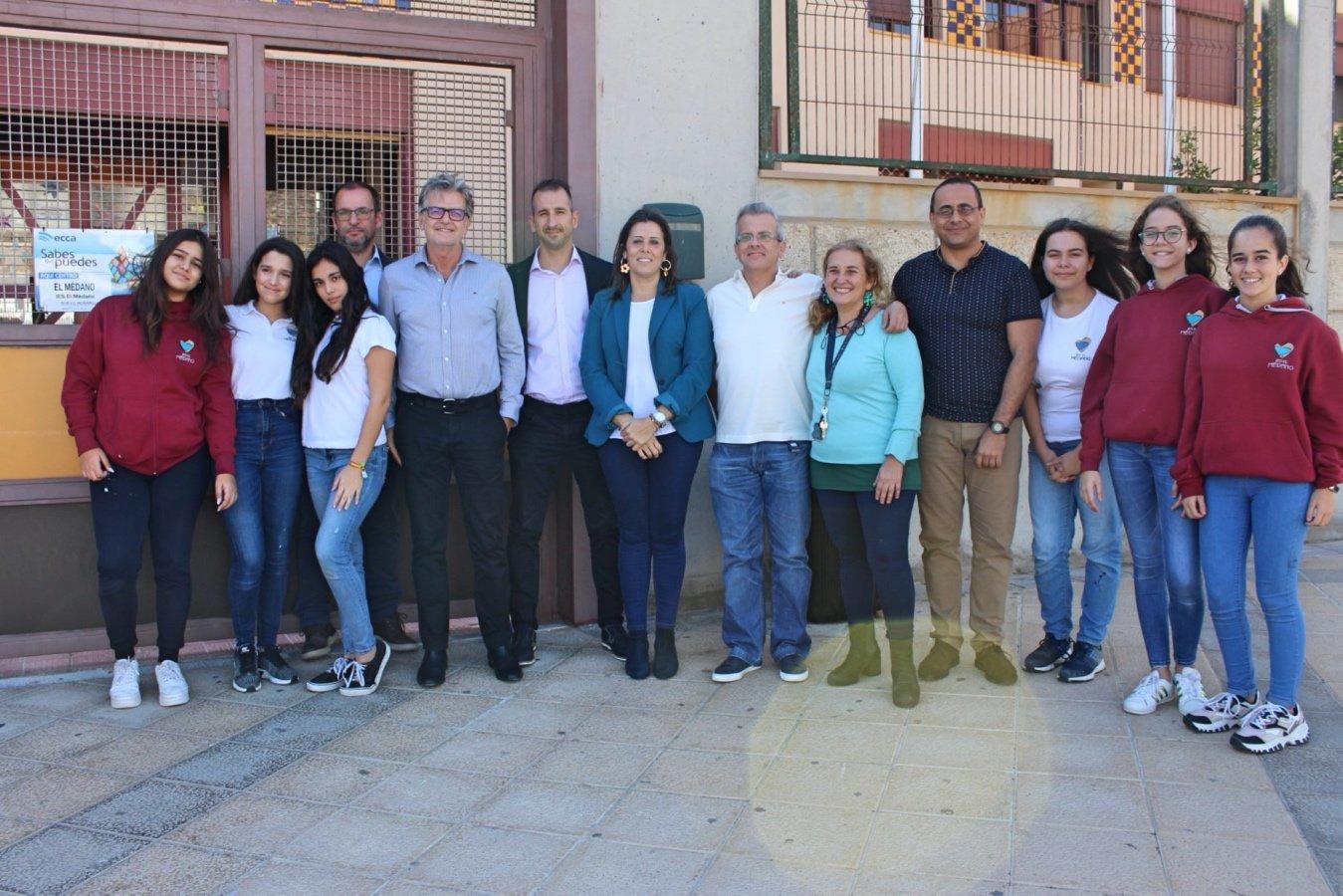 Granadilla celebra una jornada de sostenibilidad en la que implica al alumnado del IES El Médano