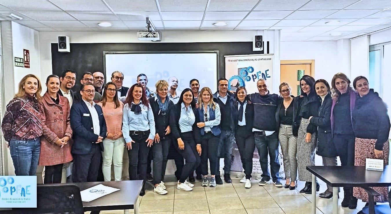 Resultado de imagen de El personal del PFAE de Puerto de la Cruz celebra un foro de empleo para la formación en gestión comercial