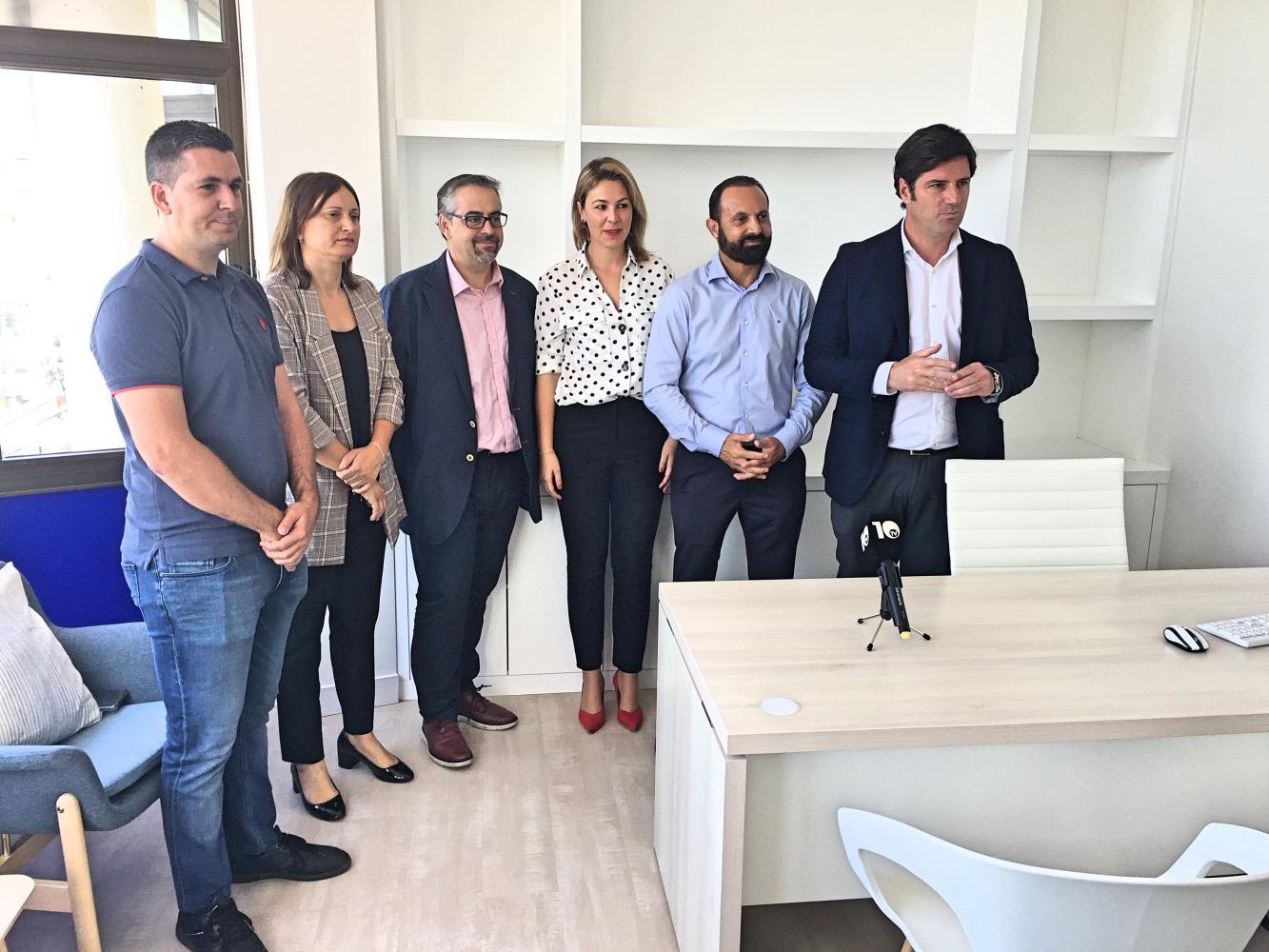 El Alcalde reabrió las nuevas oficinas municipales de Tenencia de Alcaldía