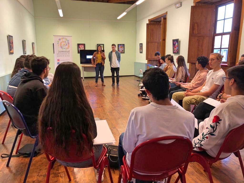 LINC-S es un proyecto pionero en Tenerife que impulsa a jóvenes del municipio en materia de liderazgo, innovación y  creatividad