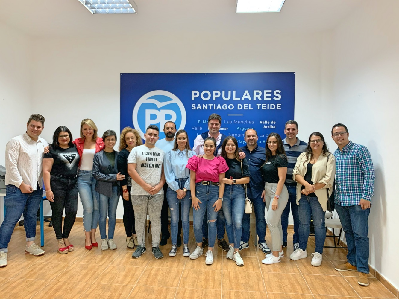 Brenda Devora Pérez, nueva presidenta de Nuevas Generaciones del PP de Santiago del Teide.