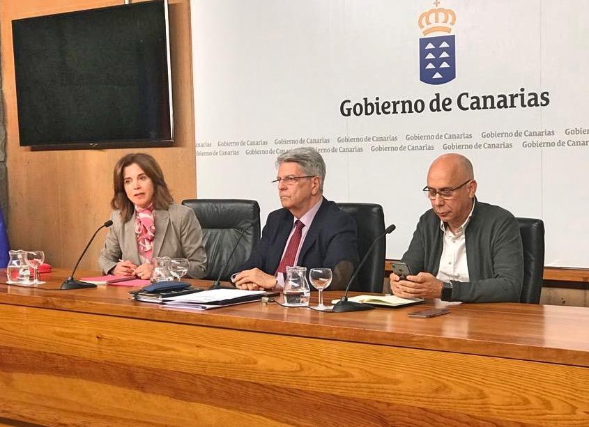 """La consejera de Sanidad, Teresa Cruz, remarca que Canarias """"puede decir, sin duda, que es una Comunidad segura tanto para los visitantes como para los residentes"""""""