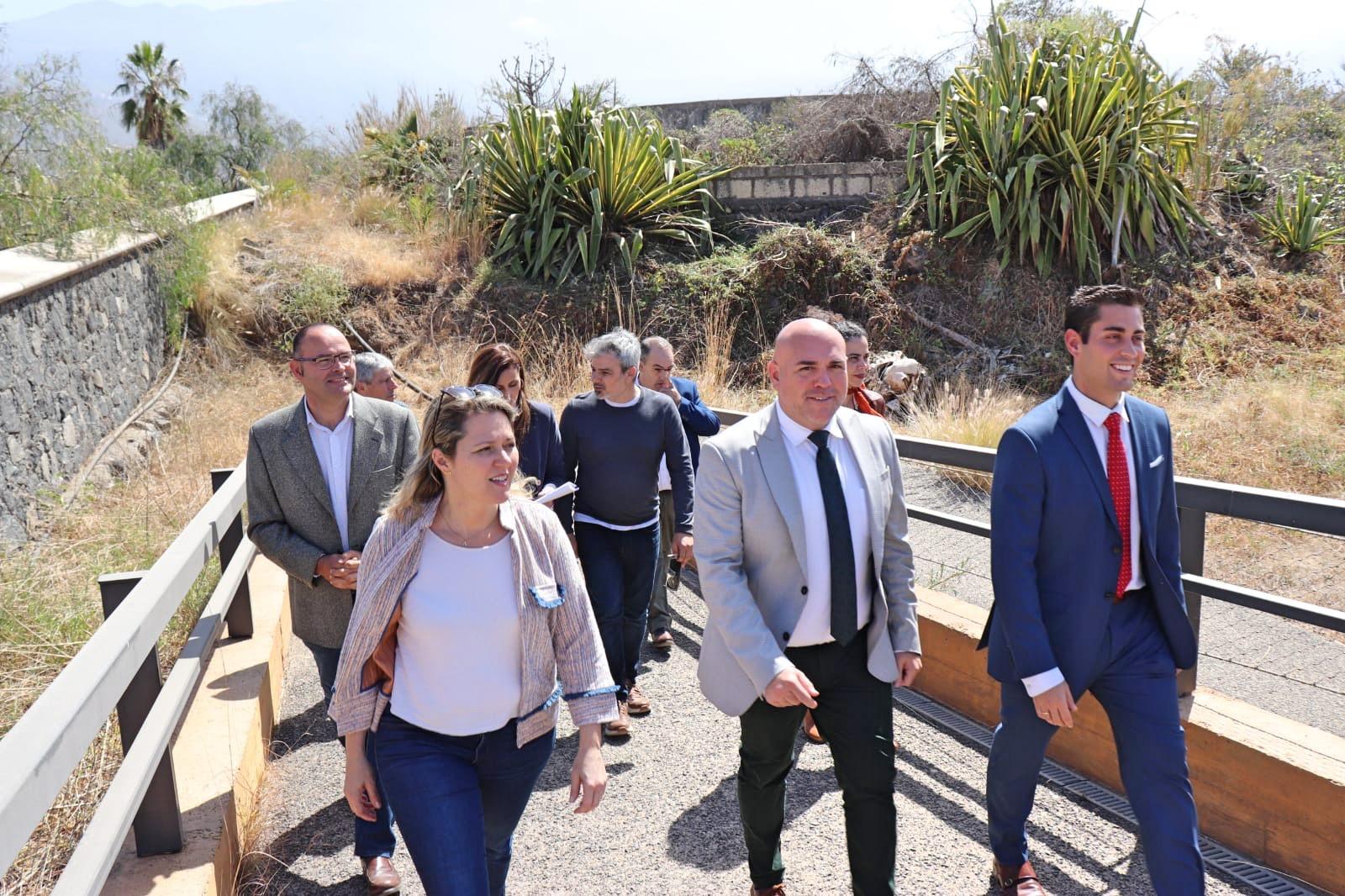Agricultura y Turismo impulsan la ampliación del Jardín de Aclimatación de La Orotava con medio millón de euros